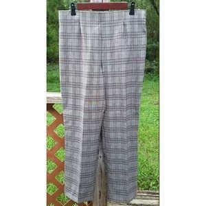 Basic Editions Plaid Pants